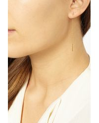 Chan Luu | Metallic Gold-Plated Chain Earrings | Lyst