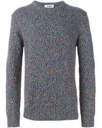 YMC - Black Crew Neck Sweater for Men - Lyst