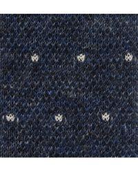Hackett | Blue Knitted Linen Tie for Men | Lyst