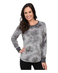 Pj Salvage | Gray Tie-dye Sweater | Lyst