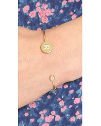 Tai | Multicolor Letter Open Cuff Bracelet | Lyst