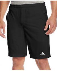 Adidas | Black Men's Climalite® Ts Essex Shorts for Men | Lyst