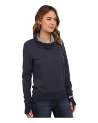 Bench | Blue Chalky Overhead Sweater | Lyst