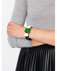 Isabel Marant | Green Three Stone Bracelet | Lyst