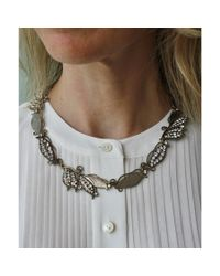Lulu Frost | Metallic Vine Necklace | Lyst