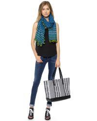 Rebecca Minkoff Black Cherish Tote Checkerboard
