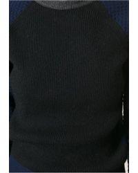 Cedric Charlier Black Long Sleeve Jumper