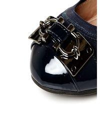 Moda In Pelle Blue Hariet Low Smart Shoes