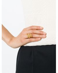 Alighieri Metallic 'la Medusa' Ring