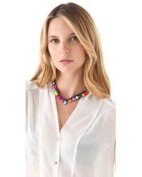 Tom Binns - Riri Multicolored Necklace - Lyst