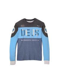 Deus Ex Machina Blue Ocd Moto 2 Jersey for men