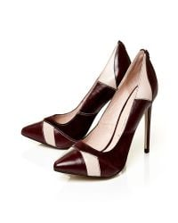 Moda In Pelle | Red Calida Pointed Toe Stiletto Court Shoes | Lyst