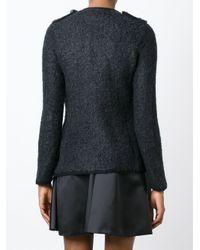 Emporio Armani   Blue Chanel Jacket   Lyst