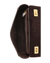 Michael Kors Vivian Shoulder Flap Bag Optic White