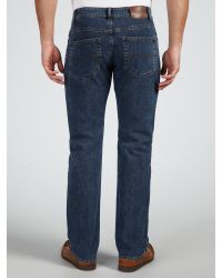 GANT Blue Denim Straight Jeans for men