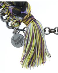 Venessa Arizaga Purple Papaya Beaded Necklace