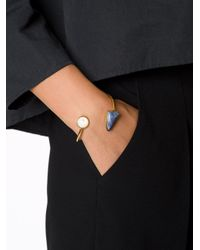Lizzie Fortunato | Metallic 'atlas Cuff' Bracelet | Lyst