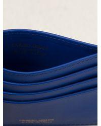 Giorgio Armani - Blue Classic Card Holder - Lyst