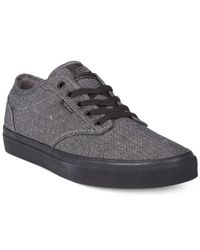 Vans - Black Atwood Sneakers for Men - Lyst