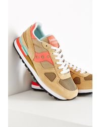 Saucony | Brown Shadow Original Sneaker | Lyst