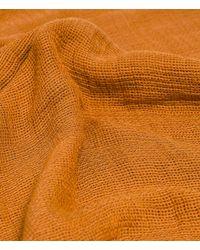 Zara | Brown Basic Structured Colour Scarf | Lyst