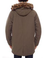 The North Face - Brown Nanavik Men's Parka for Men - Lyst