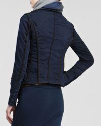 Donna Karan - Blue Stretchdenim Jacket 12 - Lyst