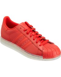 Adidas Red Superstar Clr for men