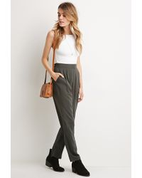 Forever 21 - Black Classic Pocket Trousers - Lyst