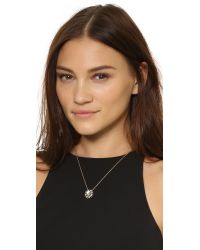 Alexis Bittar | Shadow Star Crystal Pendant Necklace - Black/gold | Lyst