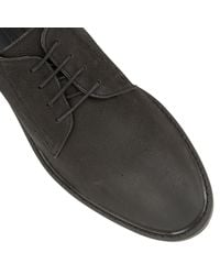 Frank Wright Black Woking Ii Casual Lace Up Shoes for men