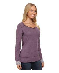 Carhartt | Purple Pondera Scoop Neck Shirt | Lyst