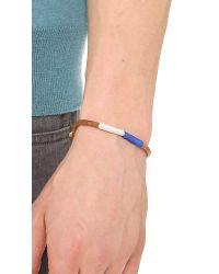 Caputo & Co. Blue Nautical Colorblock Bracelet for men