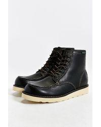 Eastland Black Lumber Up Moc-toe Boot for men
