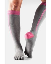 ToeSox | Pink Knee High Compression Sport Socks | Lyst