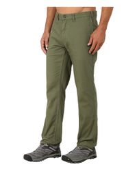 Patagonia - Green Straight Fit Duck Pant - Long for Men - Lyst