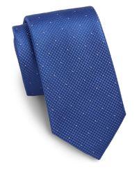 Saks Fifth Avenue | Blue Dot Silk Tie for Men | Lyst