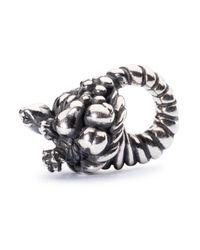 Trollbeads | Metallic Sterling Silver Cornucopia Charm | Lyst