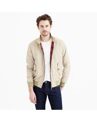 Baracuta | Natural G9 Harrington Jacket for Men | Lyst