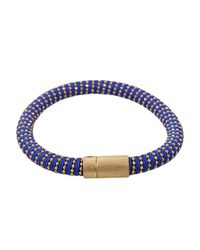 Carolina Bucci | Blue Cobalt Twister Band Bracelet | Lyst