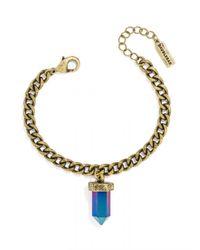 BaubleBar | Blue Mini Quartz Bracelet | Lyst