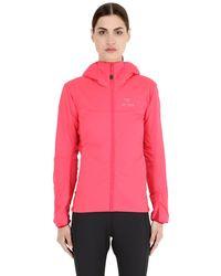 Arc'teryx Pink Atom Lt Stretch Hoody Jacket for men