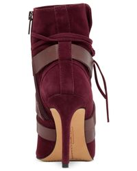 Vince Camuto Purple Solter Booties