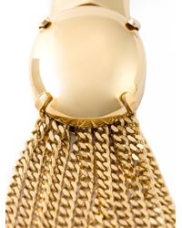 Chloé - Metallic 'delfine' Necklace - Lyst