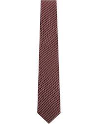Corneliani   Red 8.5 Stripe Silk Tie for Men   Lyst