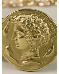 Dolce & Gabbana Metallic Roman Coin Bracelet