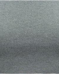 Zara | Metallic Knitted Top | Lyst