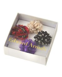 Edward Armah | Multicolor Mixed 4-Pack Of Boutonnieres | Lyst