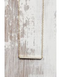 Forever 21 | Metallic Shashi Kylie Necklace | Lyst