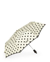 Boutique Moschino - Natural Iconic Dots Mini Umbrella - Lyst